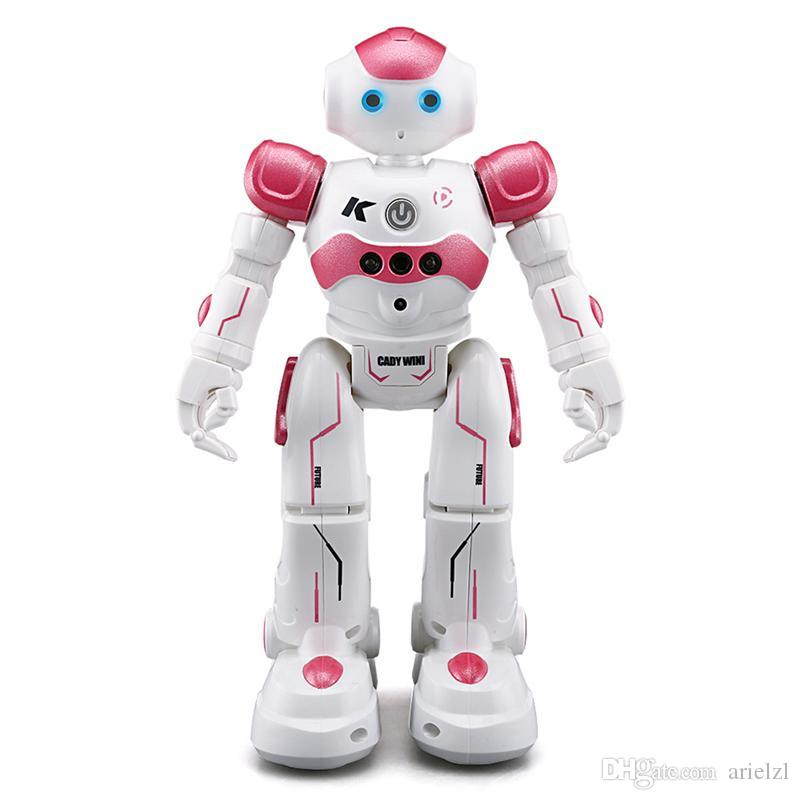 Remote control robot educational toys intelligen singing dancing boys and girls children's electric interactive toys