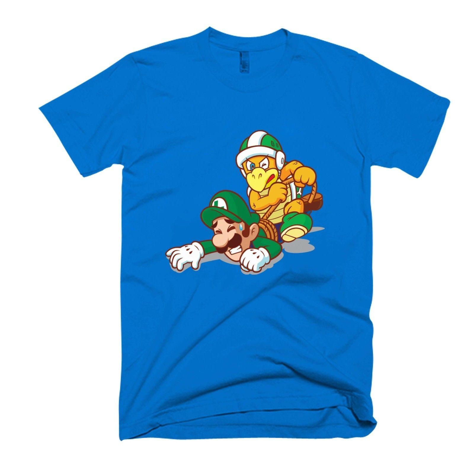 Hammer Men's T Luigi Funny Super Shirt Vs Army Mario Women's dCQrxtsh