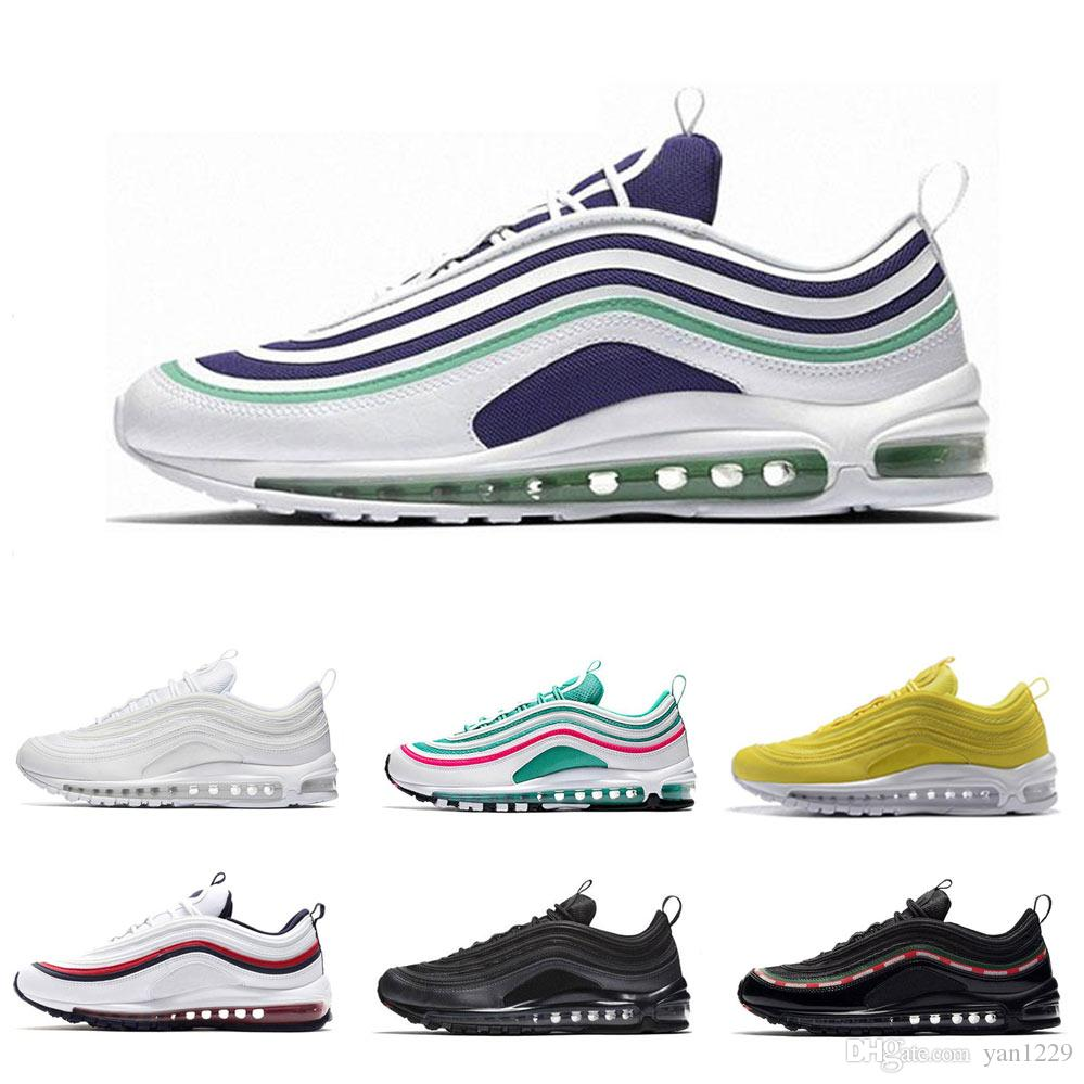 987f114ca 97 97s Running Shoes South Beach Japan Silver Bullet Undefeated Pack ...