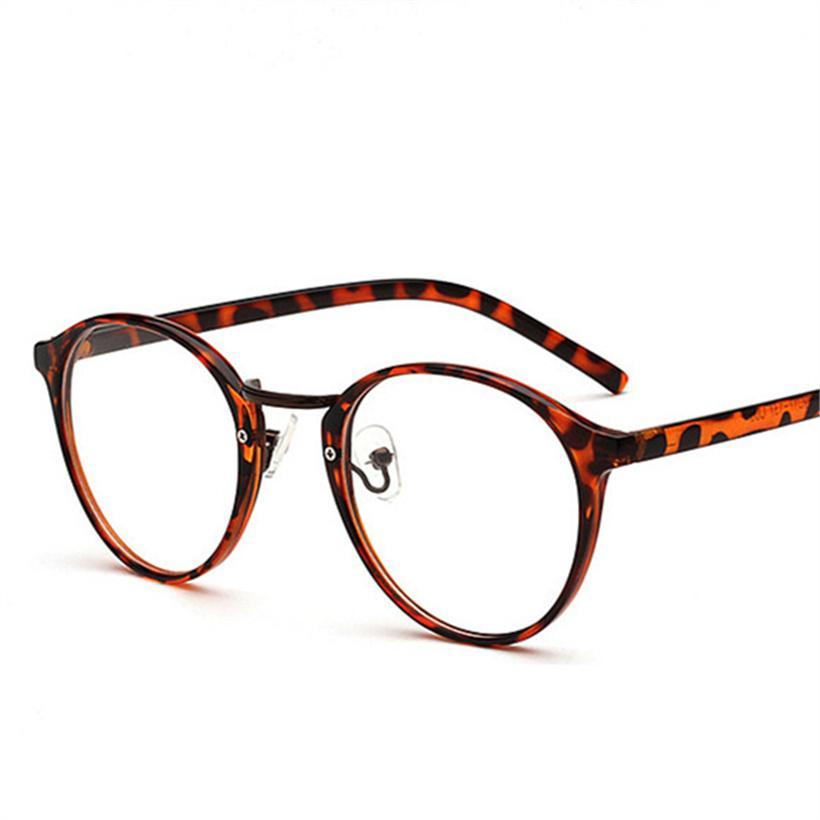 6de652d925 2019 Women Optical Round Glasses Frame Retro Clear Lens Fake Glasses Myopia  Computer Eyeglasses Frames Men S Optical Frames From Marquesechriss