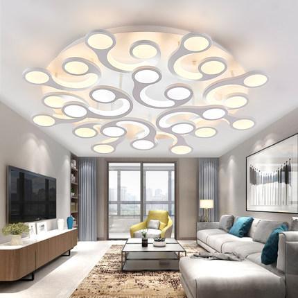 Grosshandel Moderne Decken Wohnzimmerbeleuchtung Fur Raum Runde Acryl