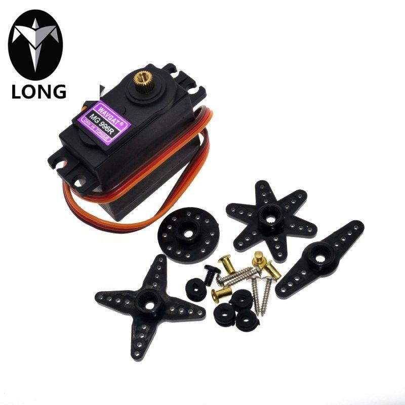 longteng Hot Sale New Servos Digital Mg996r Mg996 Servo Metal Gear For Futaba Jr Car Rc Model Helicopter Boa