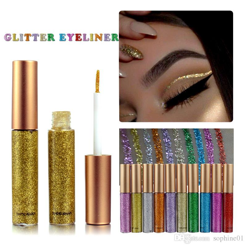 To acquire How to gold wear glitter eyeliner pictures trends
