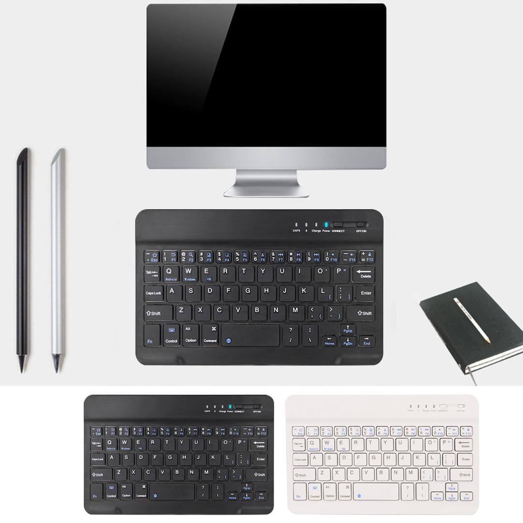 51ccbb0afe0 Vococal Bluetooth Wireless Keyboard Keypad 8 Inch Ultra Slim Portable For  Desktop Android IOS Windows Laptop Tablet IPad Phone Portable Bluetooth  Keyboard ...