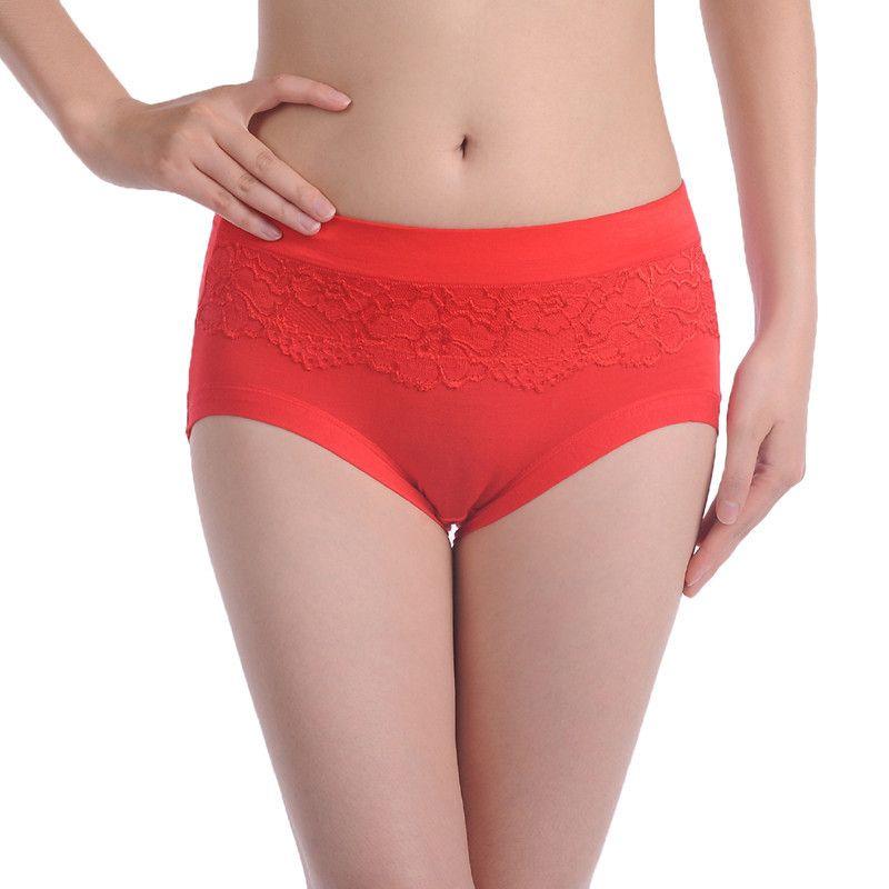 df4bc328a12f9 2019 Sexy Plus Size Women Panties Ladies  Panties High Waist Women Underwear  Briefs From Mart01