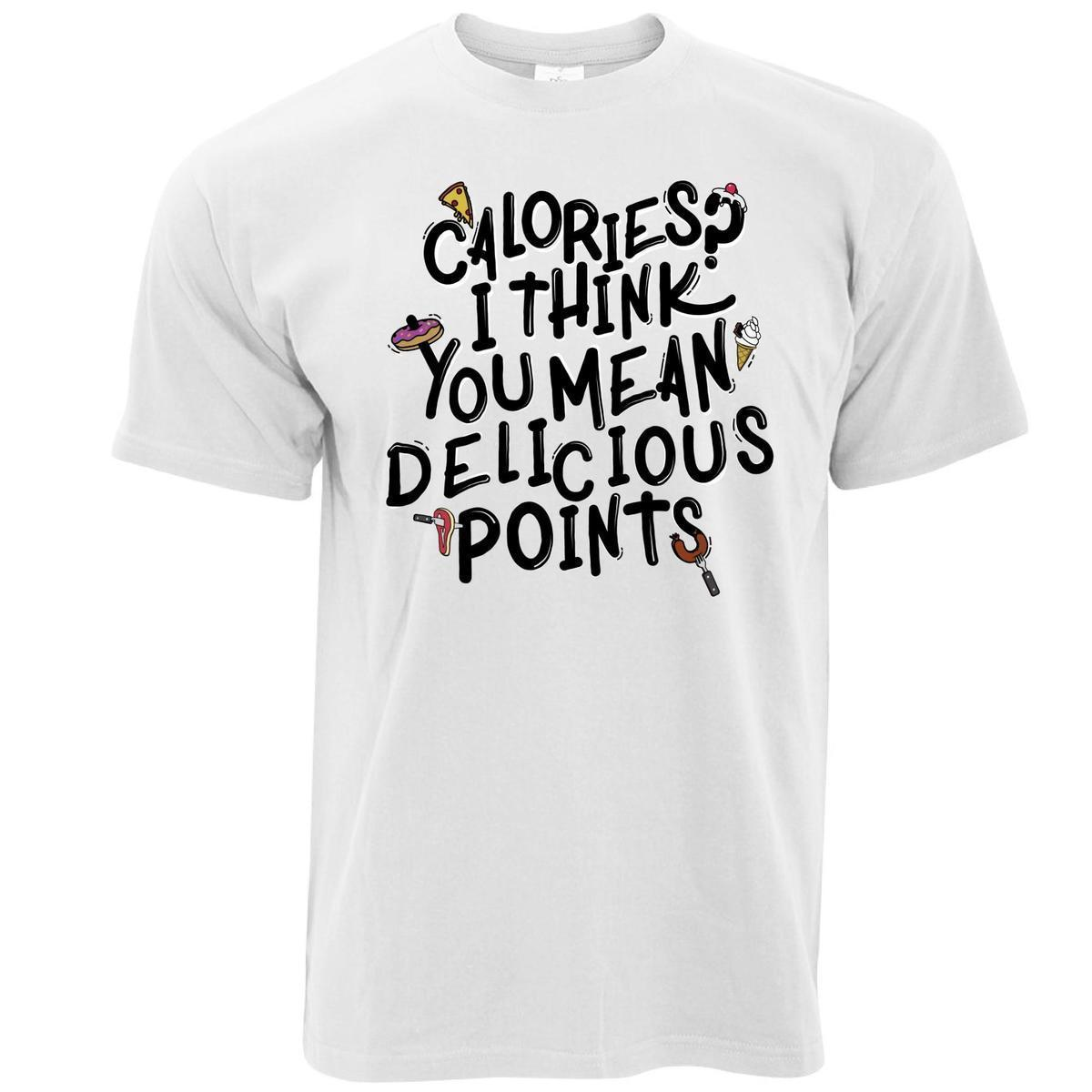49661092 I Think You Mean Delicious Points Printed Slogan Quote Mens T Shirt Funny T  Shirts Online Hilarious T Shirts From Lefan10, $14.67| DHgate.Com