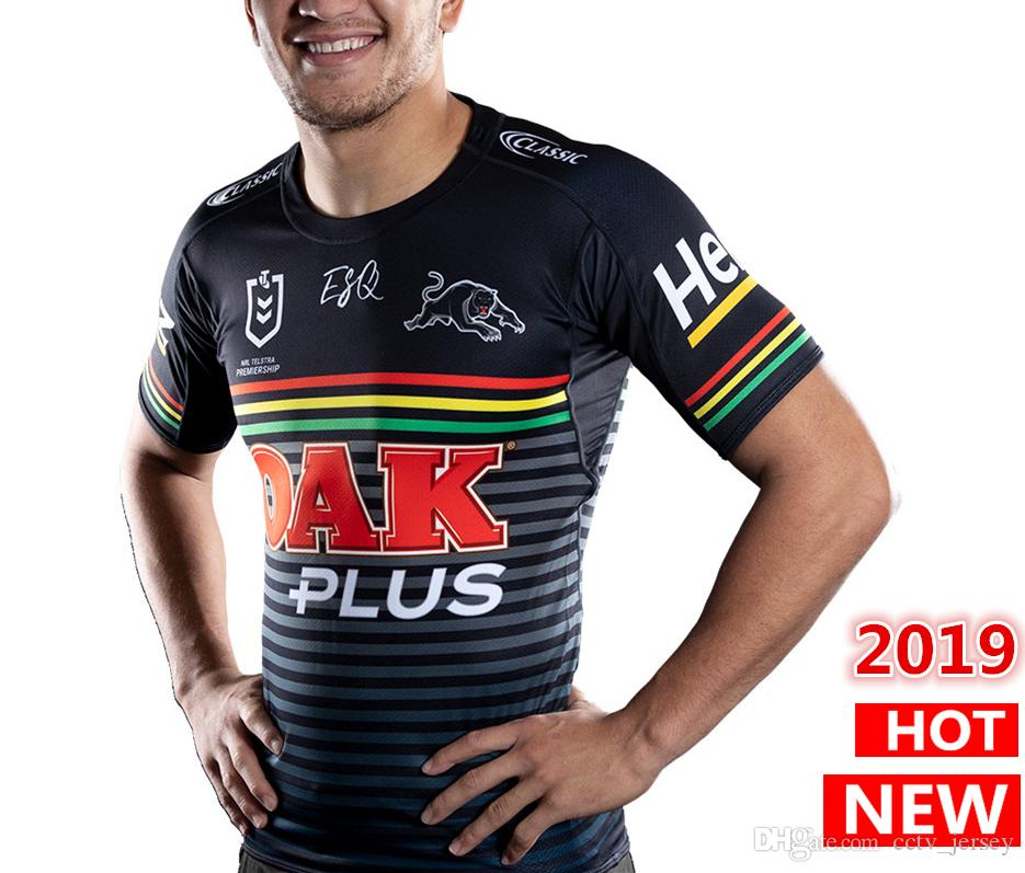 on sale 91cee aefd9 Australia 2019 2020 Penrith Panthers home rugby Jerseys NRL National Rugby  League shirt nrl jersey PENRITH PANTHERS shirts free shipping