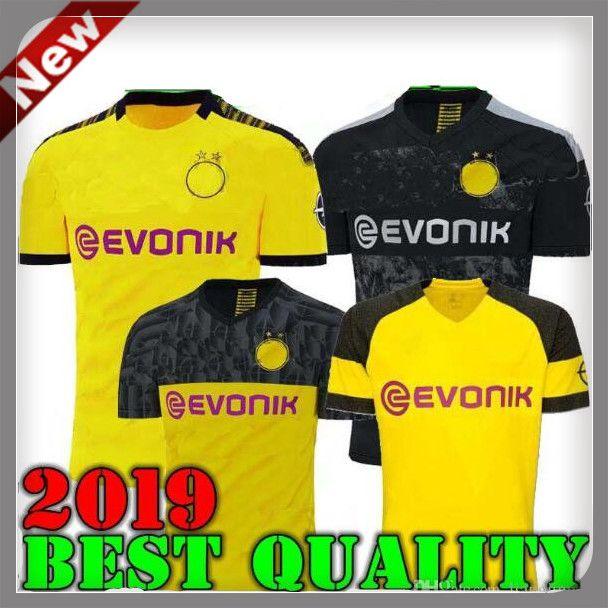 size 40 a999e aec03 19 20 Dortmund Borussia REUS home away Jerseys 2019 2020 SCHURRLE PISZCZEK  PULISIC AUBAMEYANG jersey MKHITARYAN HUMMELS GOTZE sport shirt