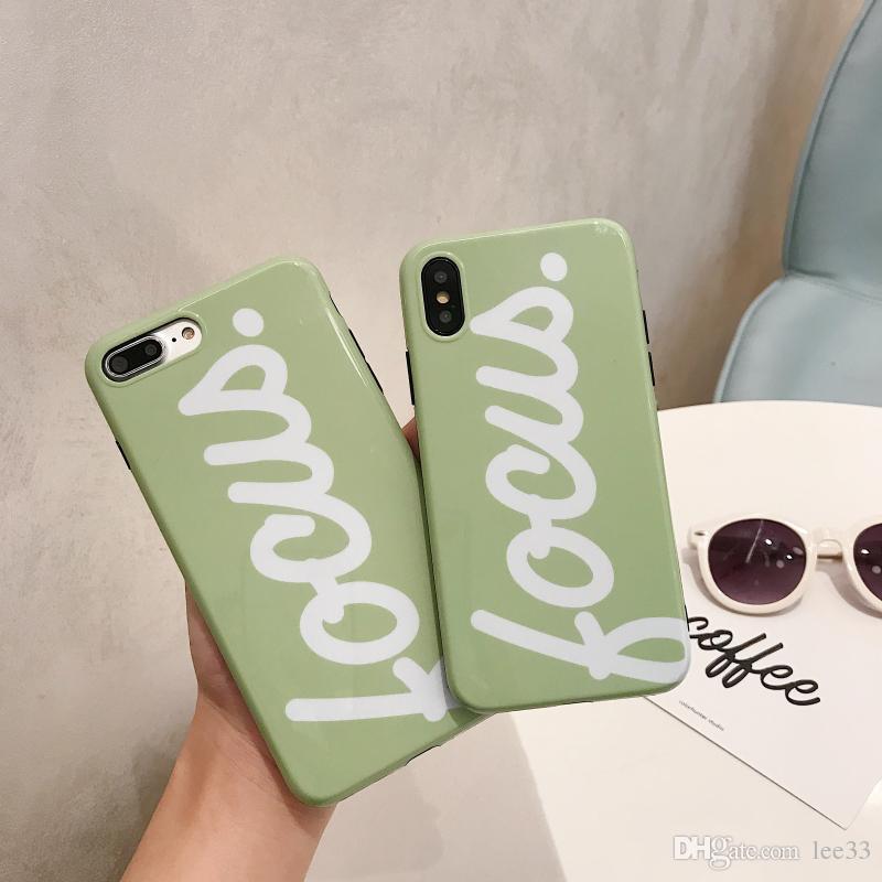 Fresh Matcha Green 6S Plus Apple X Mobile Phone Case I Women s Fall ... d15ed143b