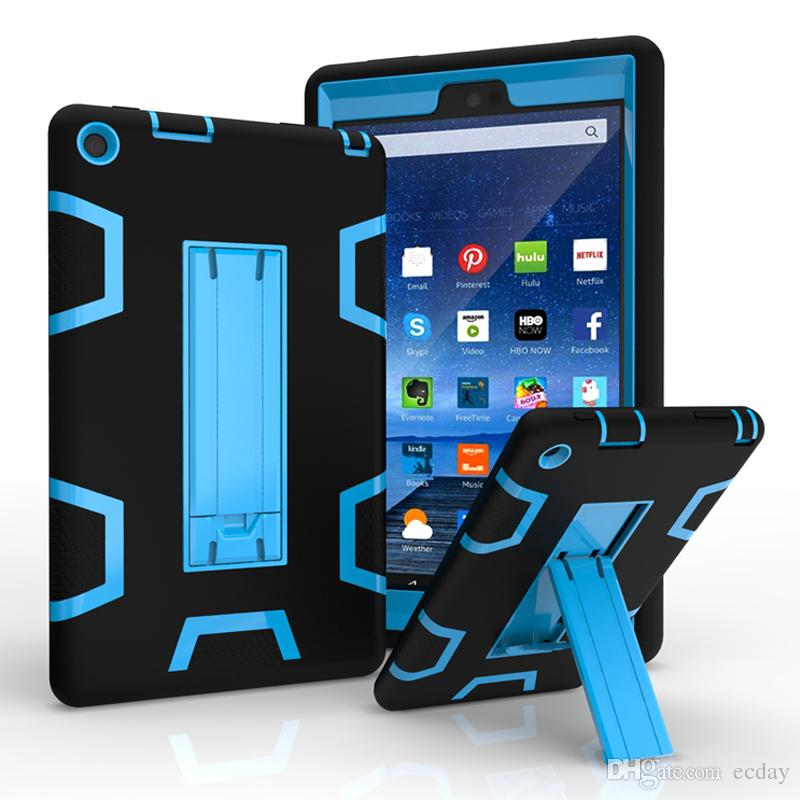 for kindle fire 7 2017 tablet pc case silicone pc 3 in 1 robot rh dhgate com