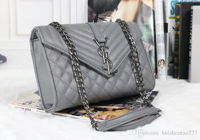 33dd8686887 YSL Handbags High Quality Handbags Famous Brands Handbag Women Bags Real  Original Cowhide Genuine Leather Chain Shoulder Bags Handbag Wholesale Hobo  Purses ...