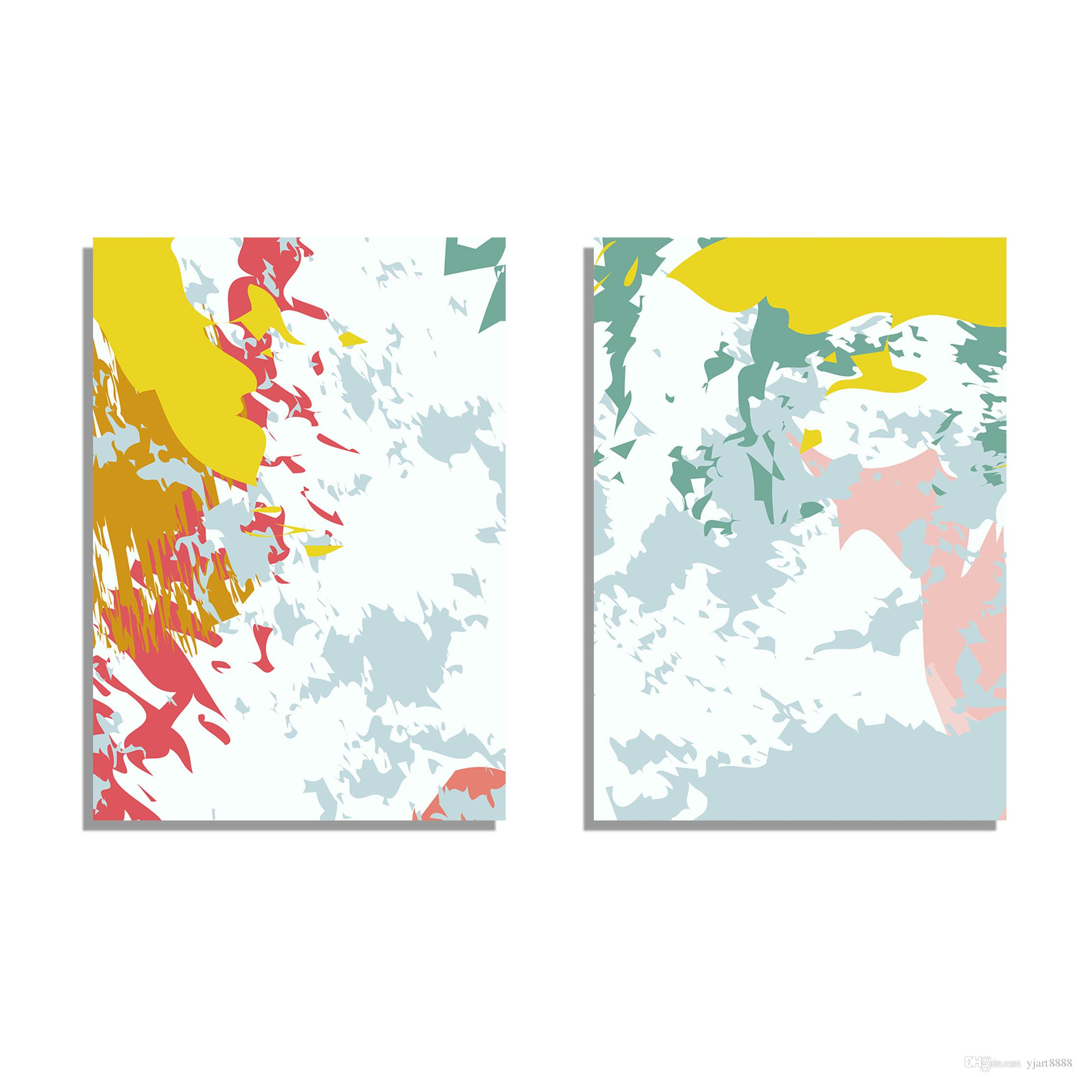 Abstract Paintings Decorate Your Home Or OfficePX0011 Printing Products Art Frame From Yjart8888 9227