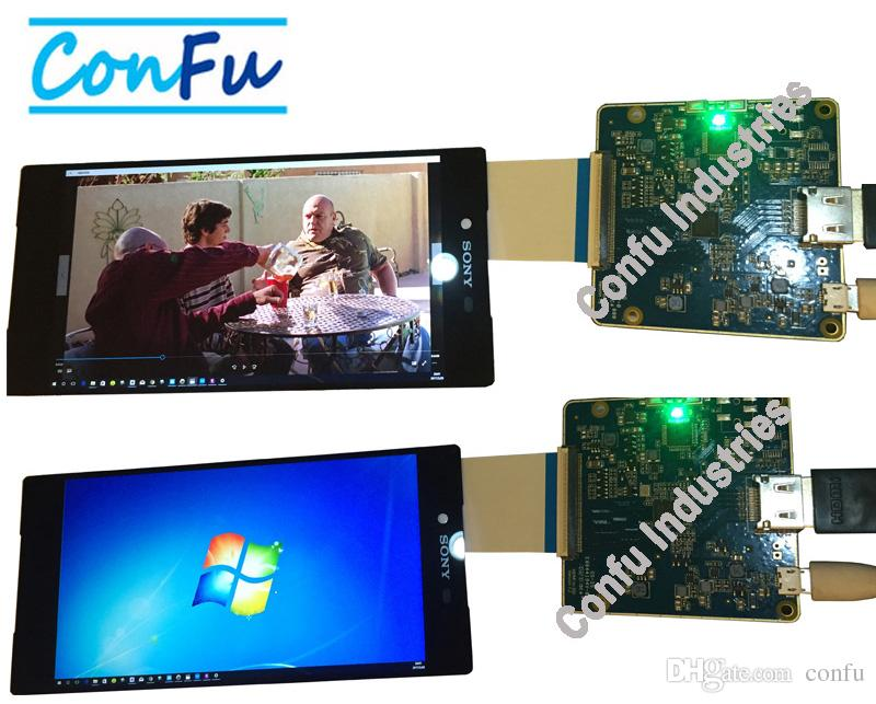 Confu HDMI to MIPI DSI Board for H546UAN01 0 5 5 inch 4K 2560*1440 LCD  panel screen Apply for 3D Printer or projector VR HMD AR etc