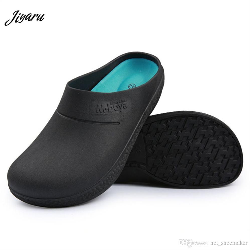 e1046f8b327 New Arrival Men Non Slip Medical Sandals Men Medical Shoes Doctors Nurses  Surgical Work Shoes Chef Work Sandals  8114 Reef Sandals Gold Shoes From ...