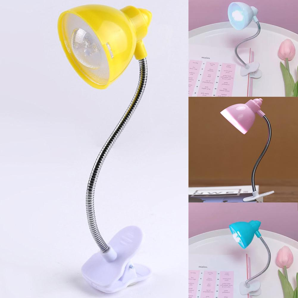 Book Lights Bedside Night Light Children Reading Light Desk Lamp Eye-caring Uv Bedroom With Cla Flexible Buy One Get One Free