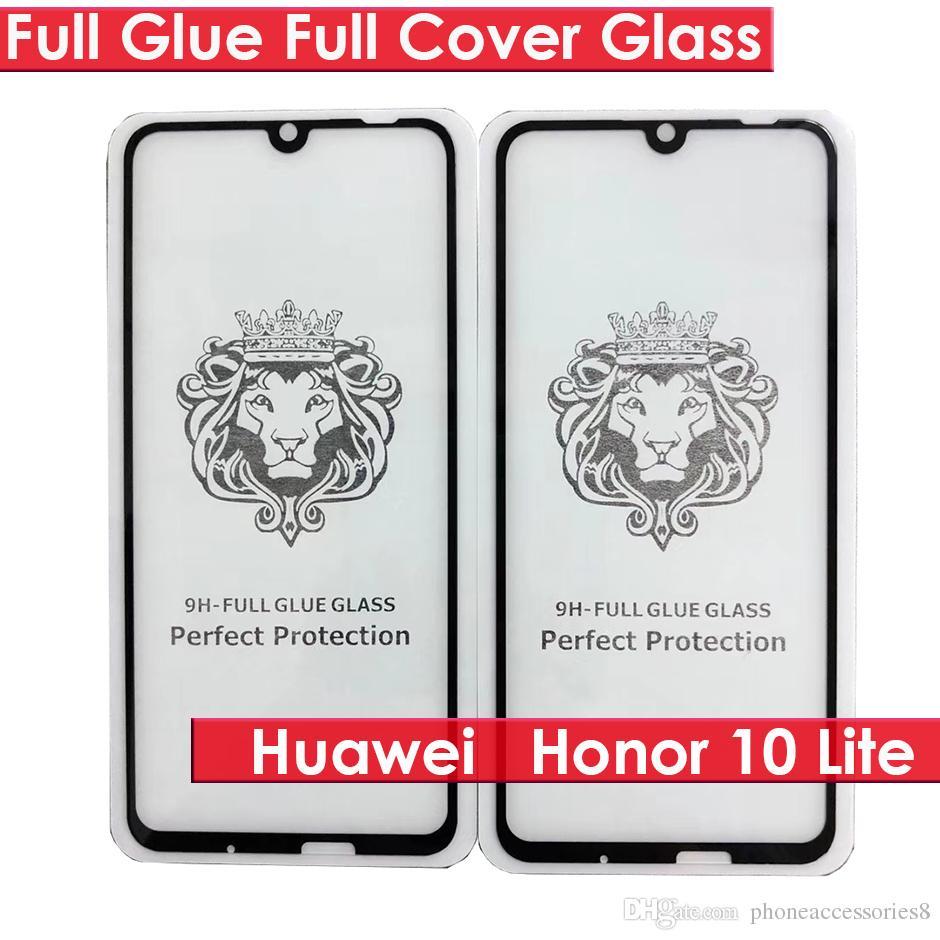Huawei Honor 10 lite Psmart P Smart 2019 Magic2 Y3 Y5 Y6 Y6 PRIME Y7 Y9  2018 Full Glue Full Cover tempered glass phone screen protector
