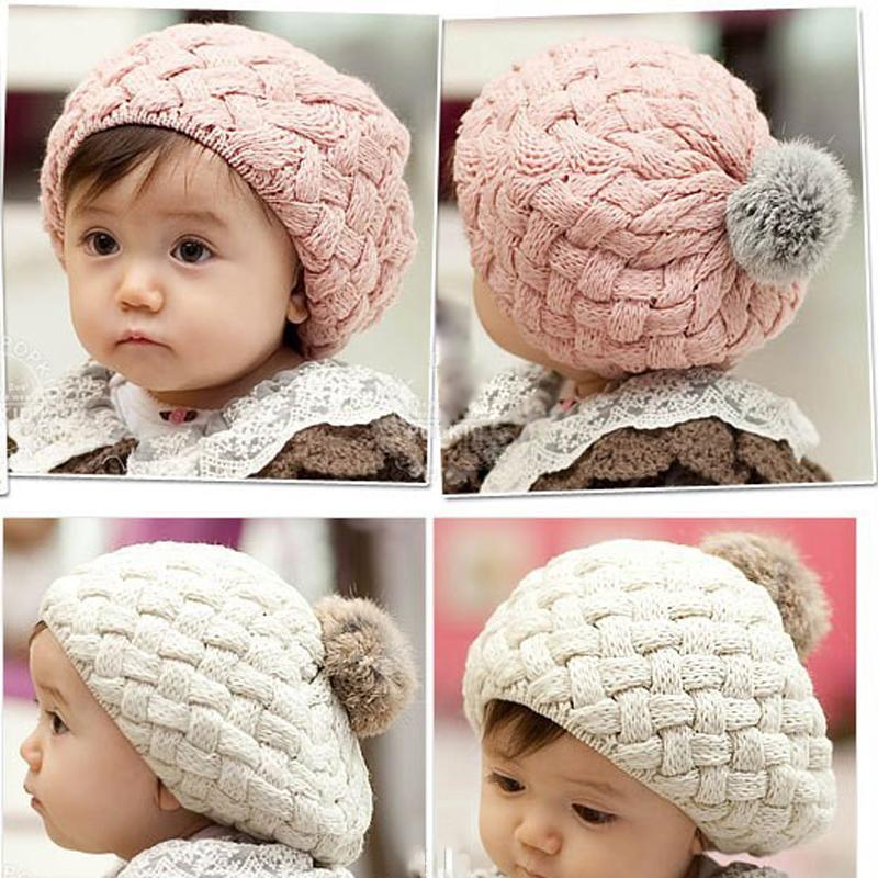 0b3c6d066 2018 baby hat kids baby photo props beanie,faux rabbit fur gorros bebes  crochet beanie toddler cap for 4 months-3 years old girl