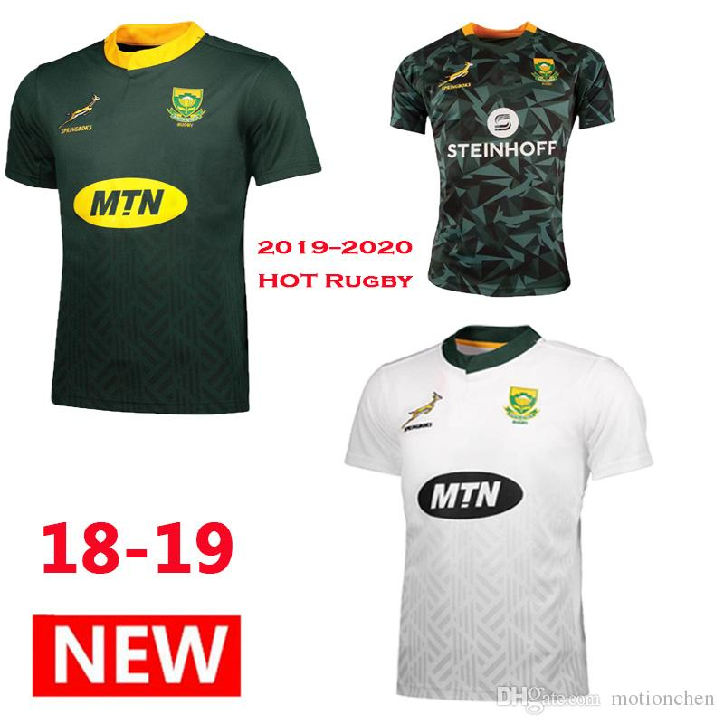 832564be0 2019 2018 Rugby World Cup Springboks South African Rugby Jerseys Shirts RWC  2019 2020 South Africa National Team Rugby Jerseys Size S 3XL From  Motionchen