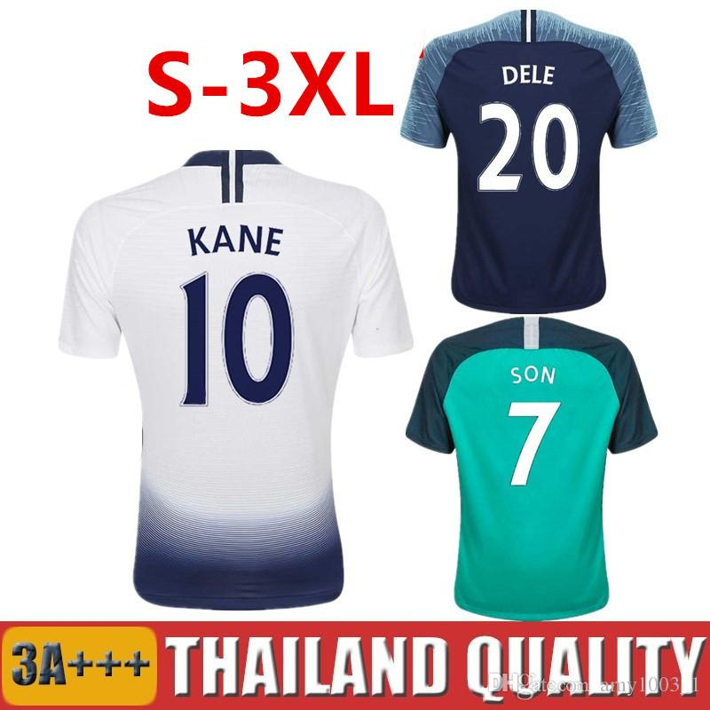 a83245cdb 2019 Top Thailand 18 19 KANE Soccer Jersey 2018 2019 DEMBELE LAMELA SPURS  Football Shirt ERIKSEN DELE SON Men Women Kids Kit SET Uniform Maillot From  ...