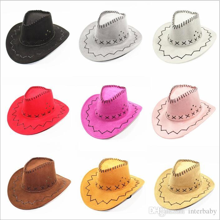 919dd6bcc Cowboy Knight Hats Cavalier Wide Brim Caps Western Cowgirl Hat Retro Sun  Visor Mongolia Prairie Summer Hats Outdoor Tourism Party Hats B5116