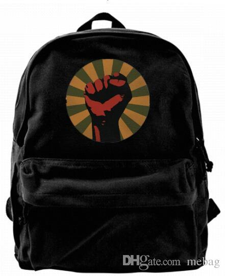 38b9b86008 UNITED WE STAND REVOLUTION UNITY POWER Fashion Canvas Designer Backpack For  Men   Women Teens College Travel Daypack Leisure Bag Black Book Bags  Herschel ...