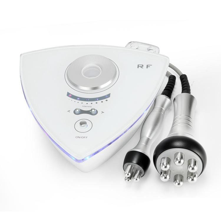 Equipo de estiramiento facial de RF Equipo de apriete portátil Máquina de radiofrecuencia multipolar tripolar de uso en el hogar para eliminar el envejecimiento de arrugas