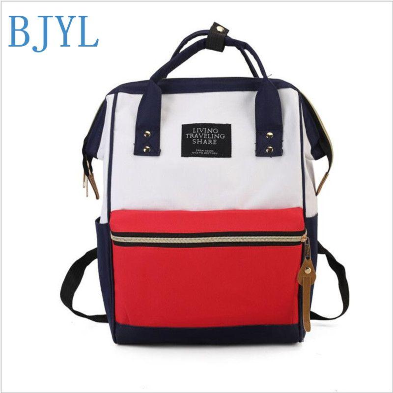 e49f19dbb0 Fashion Style Women Girls Canvas Backpack Teen Vintage Casual Shoulder  School Backpack Korean Shoulder School Bag Style Rucksack Best Backpack  Designer ...