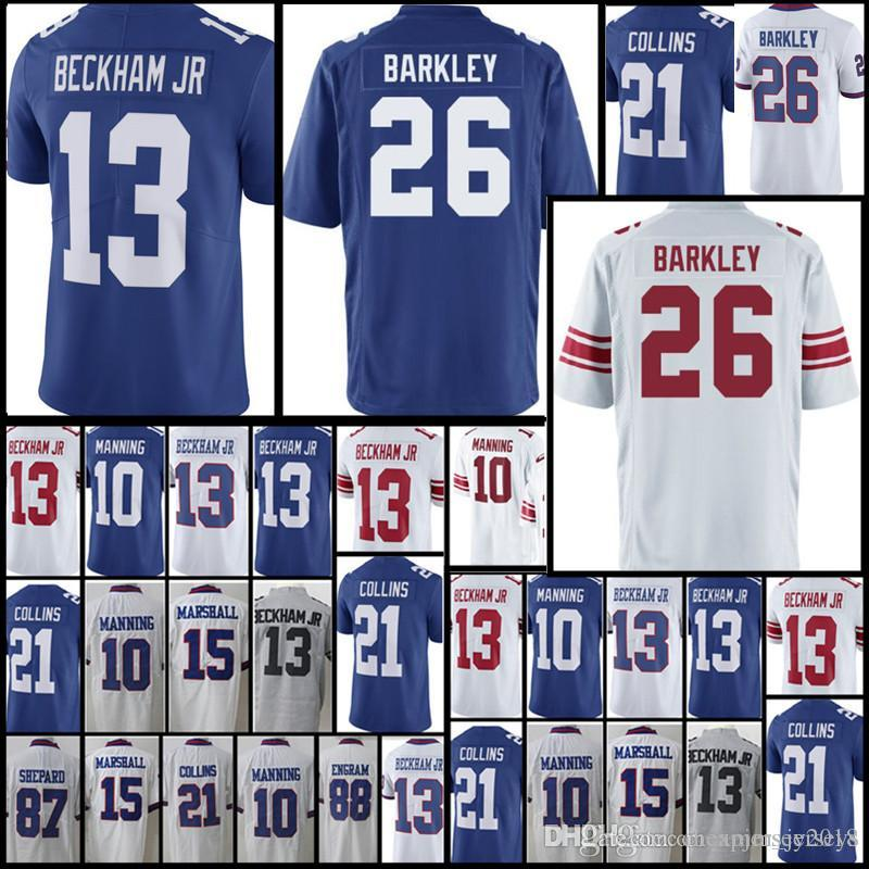 New York Giants Jersey Mens 26 Saquon Barkley 13 Odell Beckham Jr 10 ... 59622ffd9