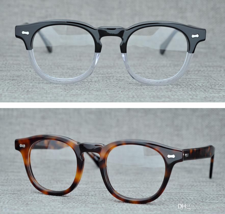 9243c138b3 Brand Eyeglasses Frames Round Myopia Optical Glasses Retro Reading ...