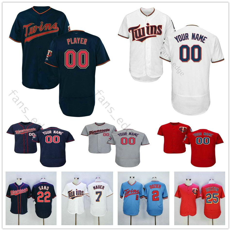 2e830dff87b 2019 Custom Stitched Twins  25 Byron Buxton Byung Ho Park 20 Eddie Rosario  13 Ehire Adrianza Men Women Kids Youth Baseball Jerseys From Heimei shop