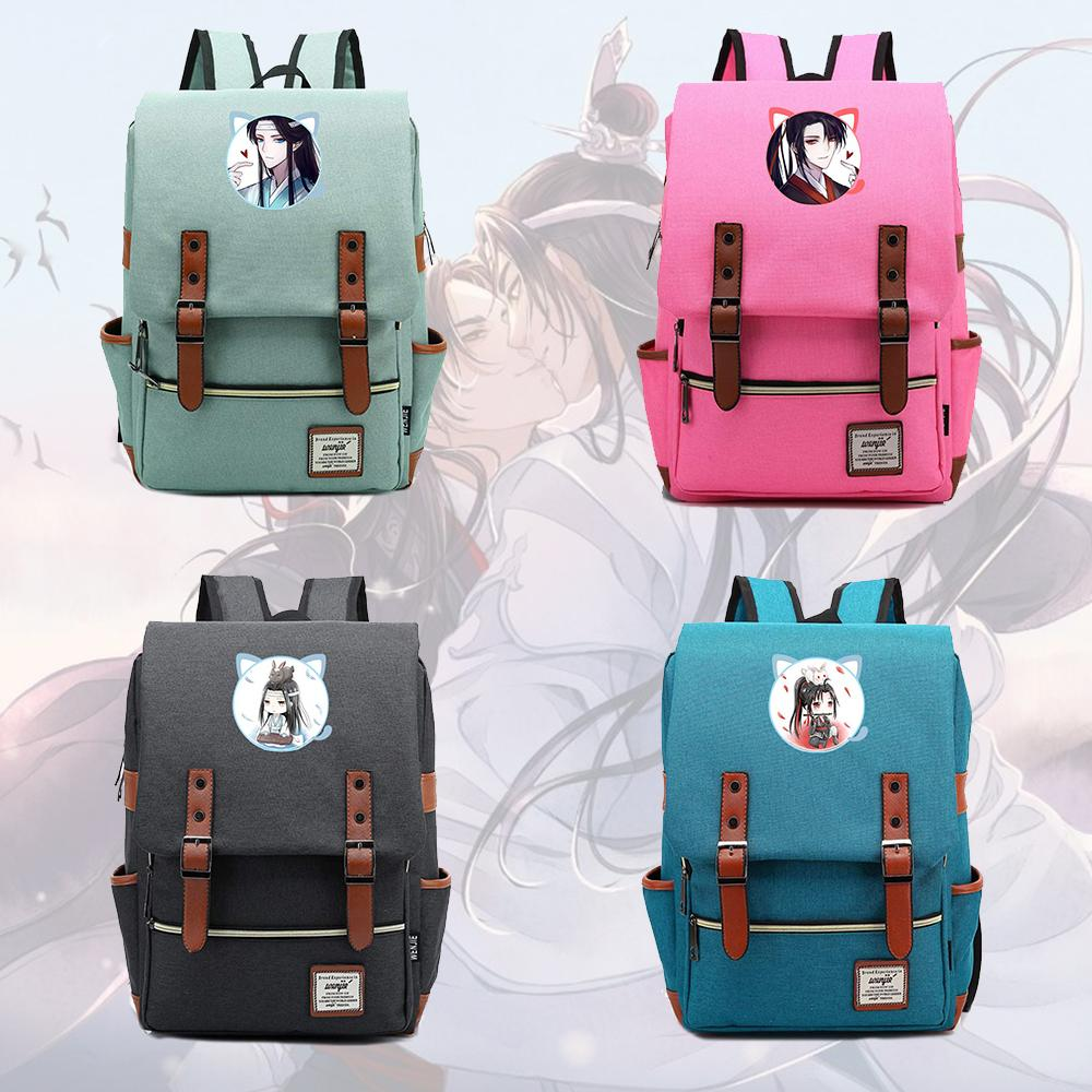 Giancomics Mo Dao Zu Shi School Bag Student Backpack For Laptop Preppy Style Notebook Backbag Travel Daypacks Unisex Rucksack