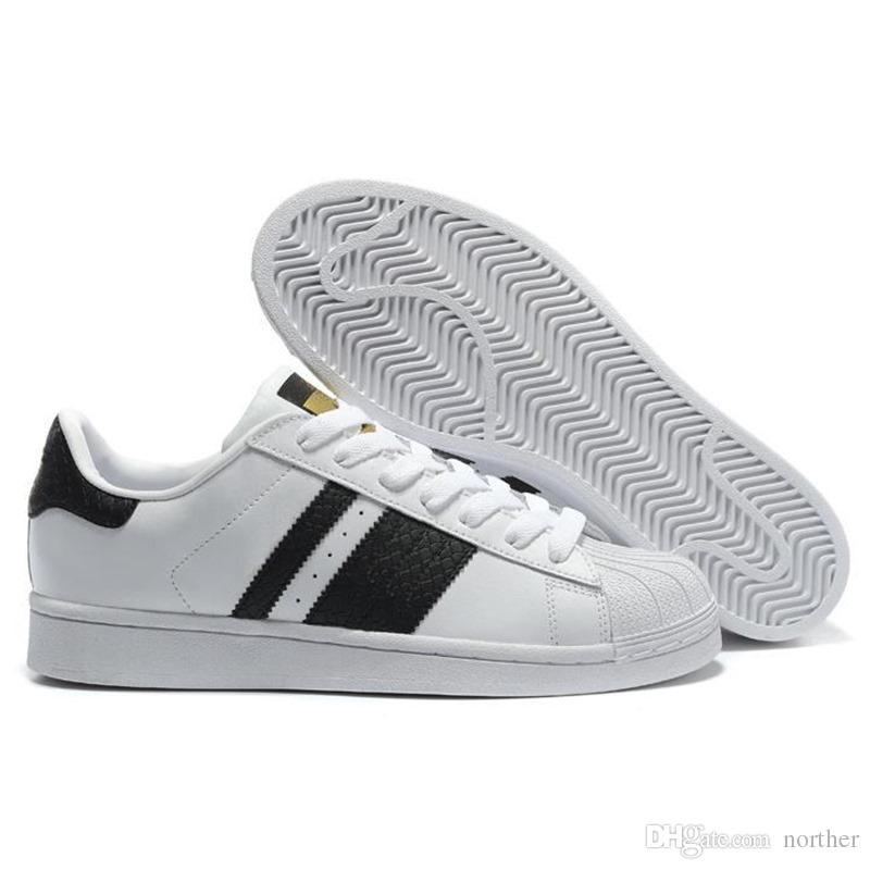 434210427dc036 Großhandel 2019 Günstige Wholesale Superstar Herrenfrauen 2016 Foundation  Casual Sneaker Schuhe Classic GOLD   Schwarz Weiß KOSTENLOSER VERSAND Eur  Größe 36 ...