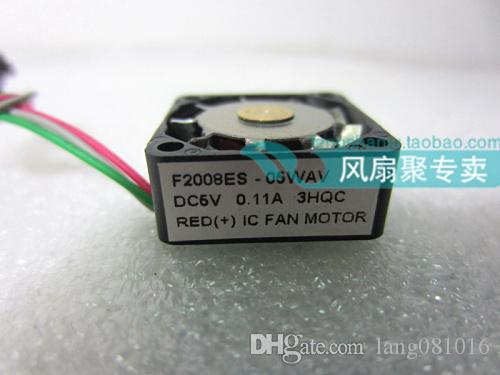Original F2008ES-05WAV 2cm 2008 5V0.11A large air volume metal leaf micro fan