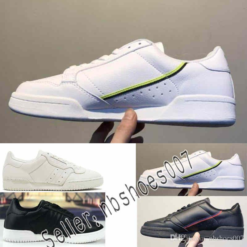 de5d21ee6 Compre Adidas Continental 80 Kanye West Calabasas Powerphase CG7153 Python  Kanye B41680 Zapatos Ocasionales Zapatillas De Correr Hombre Zapatillas De  ...