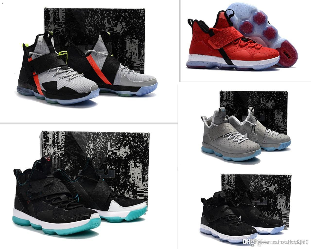 e351362c37a85 2019 Mens What The Lebron 14 IVX Basketball Shoes For Sale Lebrons ...