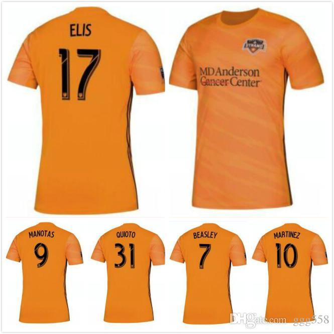 03b51dbc5fc 2019 1 Top Quality 2019 2020 Houston Dynamo Jersey Martinez Manotas Elis  Beasley Cabezas Football Shirt 19 20 Dynamo Away Soccer Jersey 10 Free From  Ggg558, ...