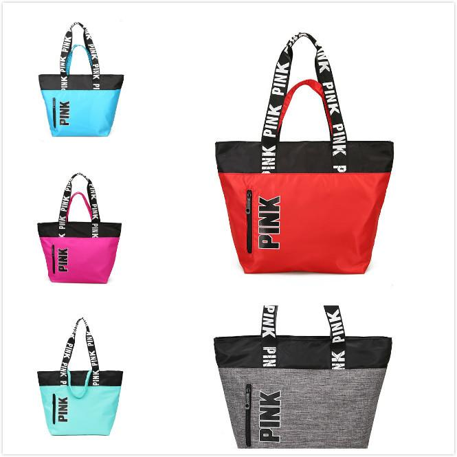 80179702a6 Pink Handbags Shoulder Bags Women Love Handbags Large Capacity ...