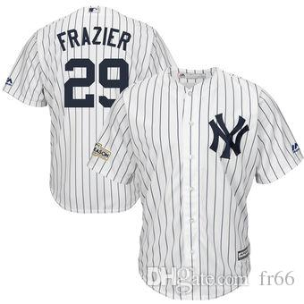 quality design 429e5 21e1f 2019 World Series Champion New York Yankees 29 Todd Frazier Baseball  Jerseys Custom Sports wholesale mlb Cheap Jersey Fashion Sizes Youth Me