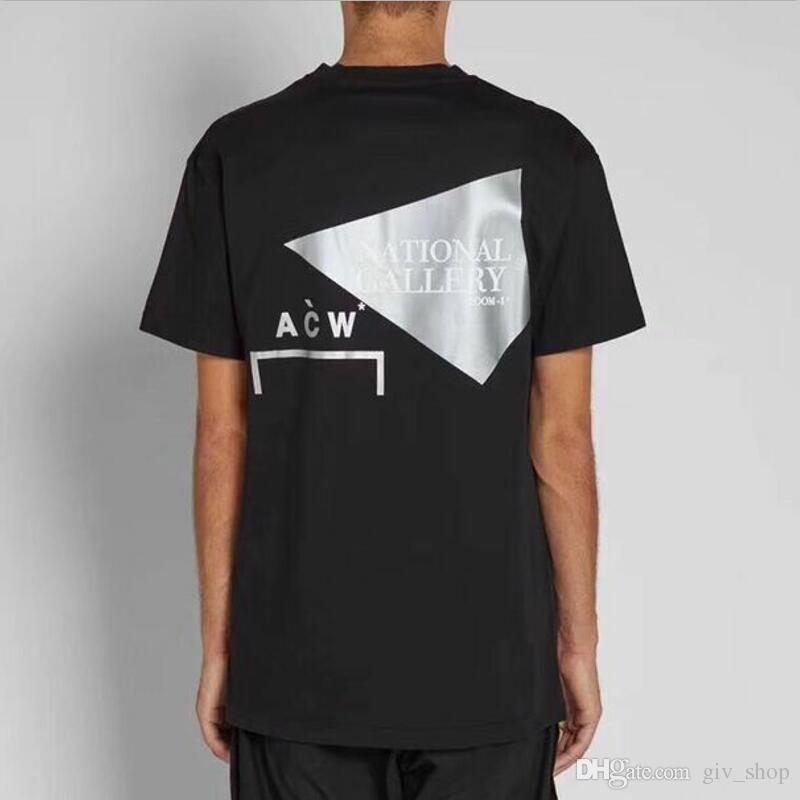 ec05e81476e 2019 New Top Latest Hip Hop Kanye West ACW A-COLD-WALL T Shirt ...