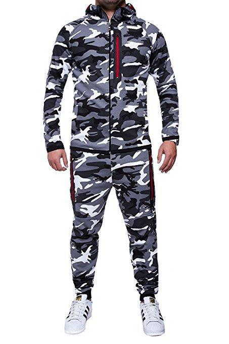 42886572108346 Acquista Tute Da Uomo Di Design Camouflage Felpa Con Cappuccio Uomo Sport  Set Felpa Con Cappuccio Da Uomo Camouflage Tute Set Da Esterno  Abbigliamento ...