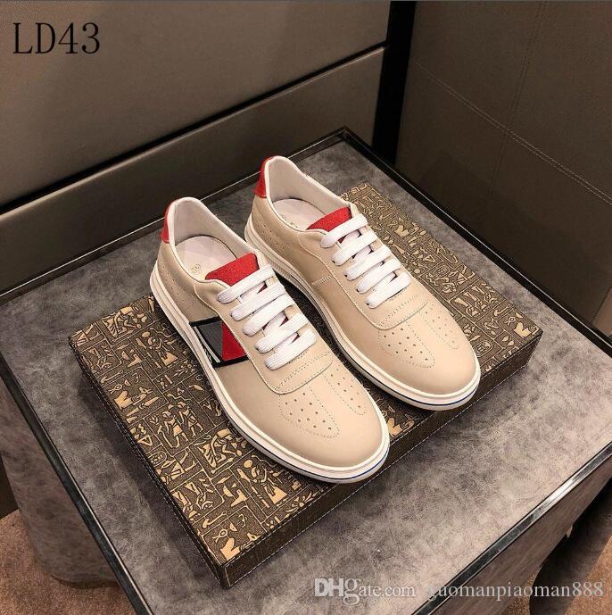 7ec605b8 2019 G28 New Mens Prada casual shoes Luxury Brand men s Gucci shoes  Designer Louis Vuitton sport Shoes size 38-45