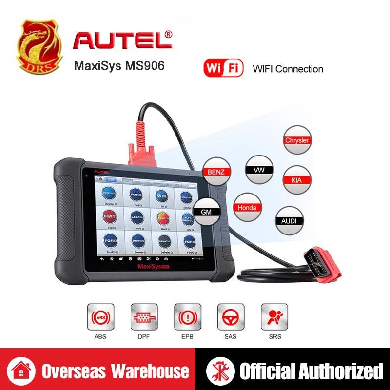 Autel MaxiSys MS906 OBD2 Diagnostic Tool ECU Coding All System Automotive Tools OBD2 Scanner Professional Scan Tool Code Reader