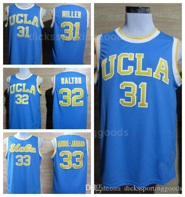 2019 NCAA College Men 32 Bill Walton Jersey UCLA Bruins Basketball 31  Reggie Miller 33 Kareem Abdul Jabbar Jerseys Blue White Color Away From  Top sport mall ... 878ecc98f