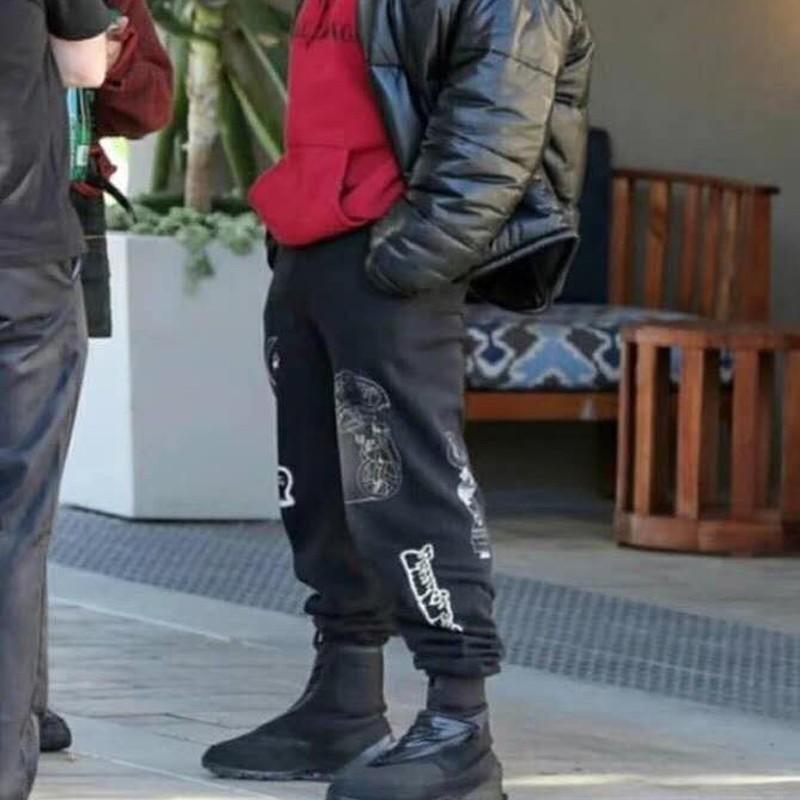 Kanye West Brain Dead Gustavo Sweatpants Classic Track Pants Luxury Vintage  Street Casual Trousers Fashion Men Women Sport Pants HFYMKZ140