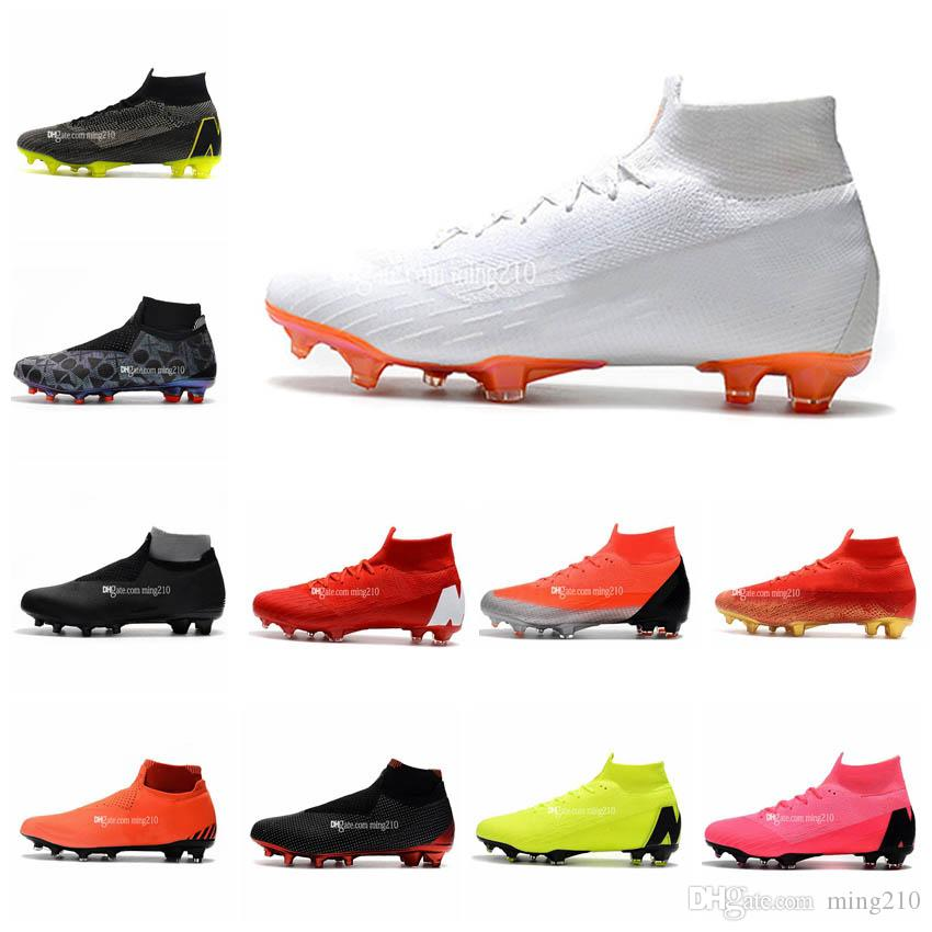 938157159 2019 Mens Soccer Kids Soccer Shoes Cleats Phantom Vision Elite DF FG Sock  Outdoor Women Soccer Shoes X EA Sports Football Boots Scarpe Calcio From  Ming210