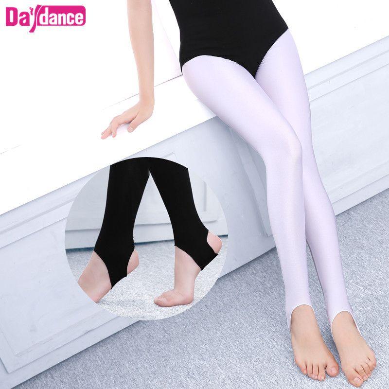 3cc180be04 2019 Wholesale Children Girls Kids Ballet Stirrup Tights Pantyhose Leggings  Cotton Spandex Yoga Gymnastics Dance Pants From Dhtradeguide, $6.11    DHgate.Com