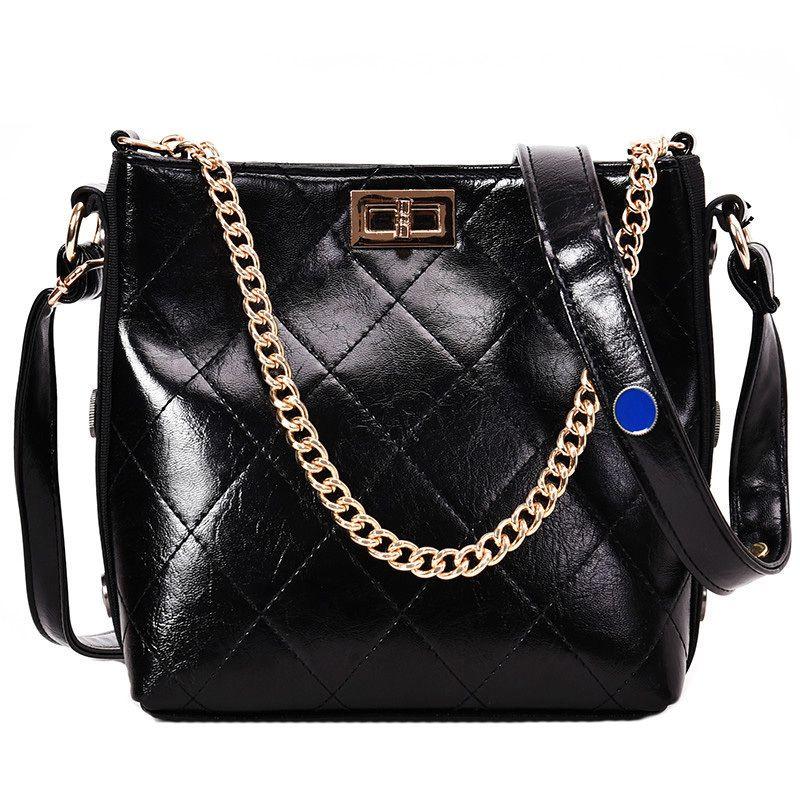 d36677c2a7af European Retro Fashion Ladies Bucket Bag 2019 New Quality Pu Leather ...