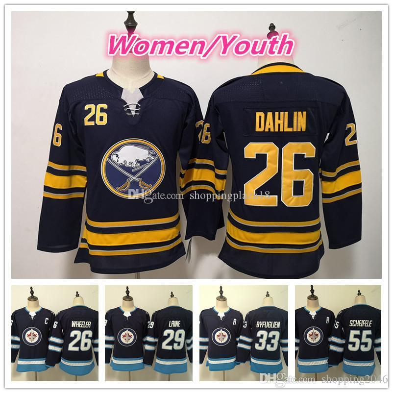 da03dcb9d5d8 Youth 26 Rasmus Dahlin Winnipeg Jets 29 Patrik Laine 33 Dustin ...