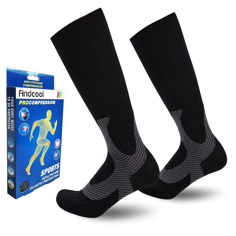 1c2a683411 Wholesale Men Professional Compression Socks Breathable Travel Activities  Fit for Nurses Shin Splints Flight Travel Men Socks Online with  $23.15/Piece on ...