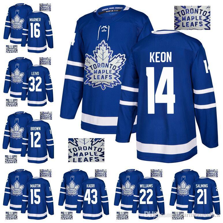 ecbe699ed 2019 2018 Toronto Maple Leafs Stadium Series 34 Auston Matthews 16 Mitch  Marner 29 Nylander 100th Centennial Classic St Pats Jersey From  Carmonoudica